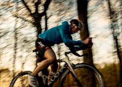 Trénink na kole